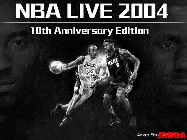 NBA LIVE 2004 MAX V2.0【十周年纪念版】正式发布