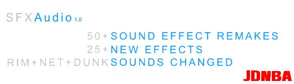 NBA2K14扣篮、抓球等比赛音效补丁 v1.0