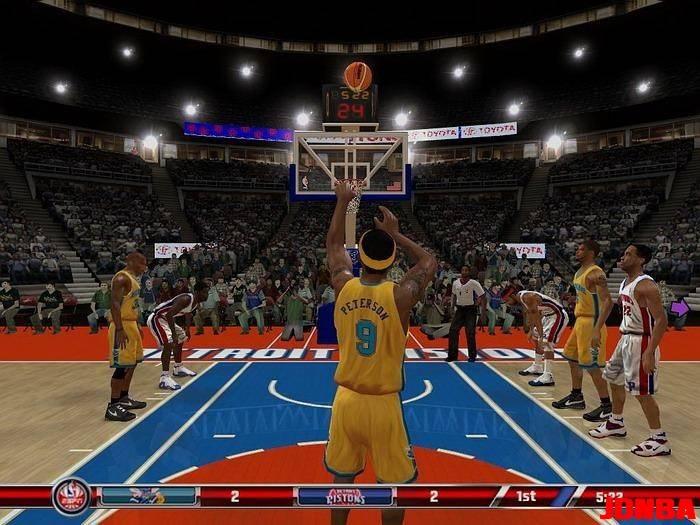 NBA08游侠原创整合版【含1.2、1.21升级补丁】