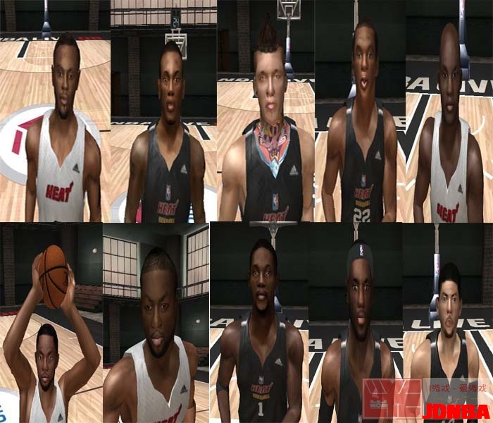 nbalive08名单_12-13赛季球员面补合集 - NBA LIVE 08 - NBA - Powered by Discuz!