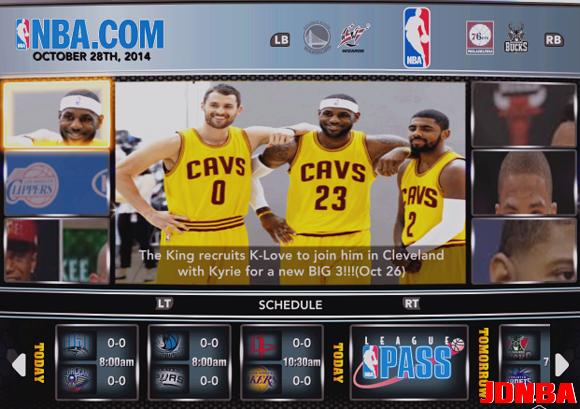 NBA2K14 UBR复古赛季大补包更新V22 14/15赛季名单更新到11.1日