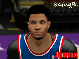 NBA2K14德怀特霍华德、鲁迪盖伊最新发型面补