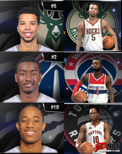 NBA2K14 UBR复古赛季大补包V33 14/15赛季名单更新到15.6.1日