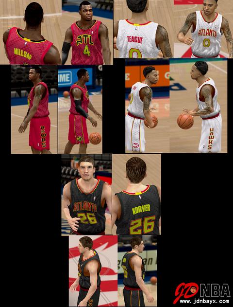 NBA2K14 UBR复古赛季大补包V37 15/16赛季名单更新到15.7.1日