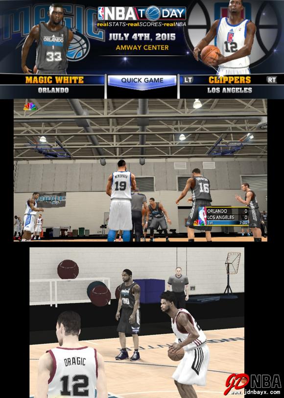NBA2K14 UBR复古赛季大补包V38.2  15/16赛季名单(更新到15年7月7日)