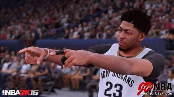 NBA2K16 (美国职业篮球2K16) 乔丹特别版 RAS免安装硬盘版[37G]