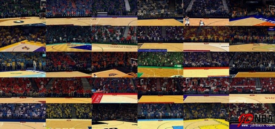 30支球队3D观众补丁